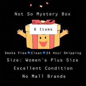 Other - Not So Mystery Box Women's Plus Size 6 Items